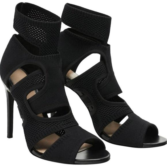 5e675919 Zara Shoes | Fabric Wraparound Strappy High Heel Sandals | Poshmark